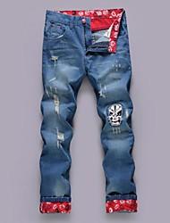 Men's Pant , Cotton/Denim Casual