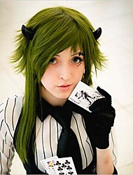 Vocaloid  Gumi Olive Green Cosplay Wig