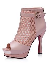 Women's Shoes Komanic Peep Toe Spool Heel Sandals Shoes More Colors avaliable