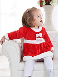 Lovely Santa Claus Dress Toddler Christmas Costume(6-12M)