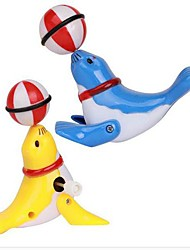 The Sea Lion Head Wind Up Toys(Color Random)