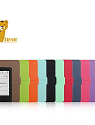 Shy Bear™ 6 Inch Slim Style Leather Cover Case for Amazon New Kindle 2014 (Kindle 7) Ebook