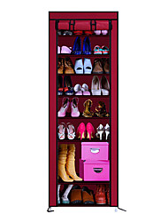 Non Woven Fabric Metal Shoes Rack for Shoes Storage One PCS