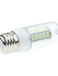 7W E26/E27 LED Mais-Birnen T 36 SMD 5730 800-1200LM lm Natürliches Weiß DC 12 V