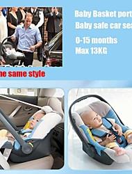 Siège d'auto pour bébé de 0 à 15 mois du nouveau-né pour max 13 kg sécurité baby basket ks portables ™ 4 couleurs panier de bébé voiture-lits