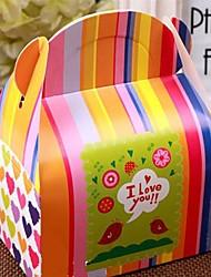 12pcs милый ребенок душ коробка конфет подарочная упаковка день рождения услугу
