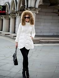 yimilan® l'épaississement de la nouvelle d'un mot la mode d'hiver chaud cheveux lourds vers le bas la veste de femmes