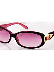 armação de metal embelezadas moda óculos escuros vermelhos