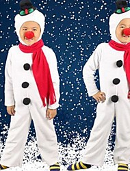 Cute Snowman Kids Christmas Costume