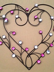 E-HOME® Metal Wall Art Wall Decor,Heart Wall Decor