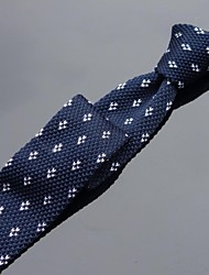 Cravate Soirée / Décontracté Tricots,Homme Imprimé Toutes les Saisons