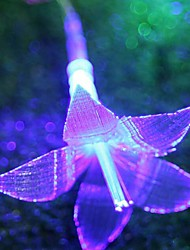 6m plástico natal luz da corda bolha lírio, bateria