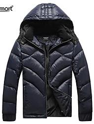 Veste à capuche amovible bas veste décontractée de lesmart®men