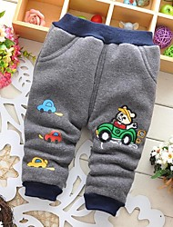 Boy's Cotton Pants,Winter / Fall Solid