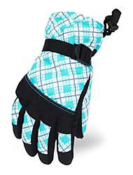 северной широты 35 ° голубой полиэстер тепловой лыжные перчатки детские