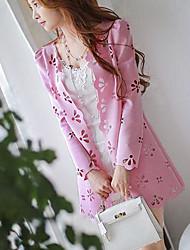 Dabuwawa Women's Fashion Long Sleeve Coat