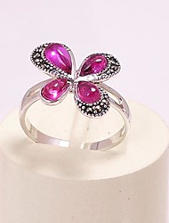 AS 925 Silver Jewelry Clover ring