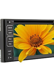 6.2 inch universele 2 din in-dash auto dvd speler met gps, bt, rds, touch screen, rl-261wgnr02