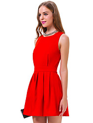 GGN Women's Fashion Backless  Dress