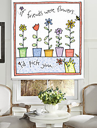 Flowers And Friends Roller Sahde