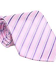 Pink&Purple Striped Tie
