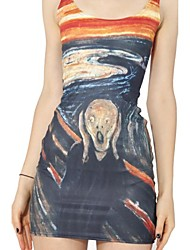 The Scream Skater Dress Night Club Uniform