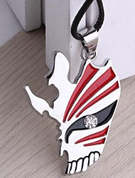 Bleach Ichigo Hollow Mask Pendant Cosplay Necklace