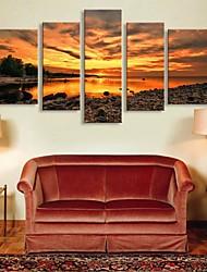 e-FOYER étiré sur toile sous le soleil ensemble décoratif réglage 5