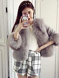 nai.si vrouwen europese luxe warmte goedkope bontjassen (meer kleuren)
