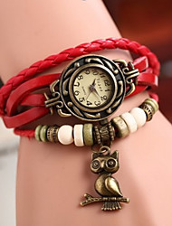Sa Sa Women's All Match Knittng Bracelet Watch