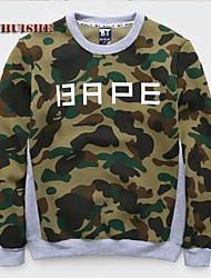 YHS®Men in Camouflage Fleece Sweater JDYL817