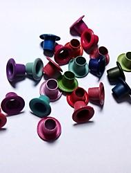 40pcs / ilhós pacote misto de cores metálicas para scrapbooking