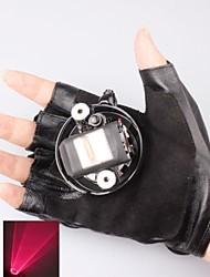 л-650 перчатка красный лазерный указатель (3 мВт, 650 нм, 1xlithium батареи, черный)