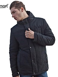Lesmart® Men's Fashion Stitching Thick Warm Coat Jacket