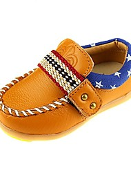Zapatos de bebé - Oxfords - Exterior / Casual / Fiesta y Noche - Pelo de Ternero - Azul / Amarillo / Blanco