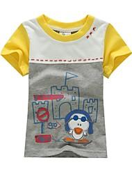 BOY'S 100% cotton Summer wear embroidery T-shirt
