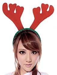 Toonykelly Christmas Decorative Antler Hair Band MITB Party Supplies