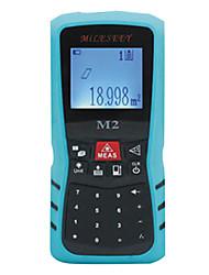 80m ± 1,5 mm lcd numérique de poche télémètre laser équipement de mesure de distance infrarouge IR mileseey m2