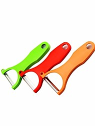 3-in-1 Fruit / Vegetable Peelers Paring Knives Cutters Set