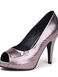 pompe della piattaforma scarpe peep toe tacco a spillo delle donne scarpe