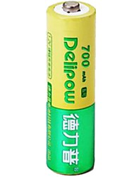 Delipow 1.2V 700mAh  AA Rechargeable Nickel-Cadmium Battery
