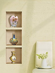 3D Lattice Vase Ceramic Wall Stickers Wall Decals