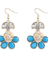 Women's Clearance Flower Drops Hooked Dangle Earrings