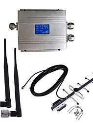 New LCD CDMA 850MHz Cell Phone Signal Repeater Booster Amplifier Antenna Kit