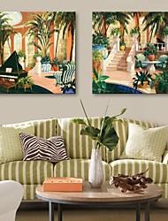 персональную электронную Home® холст печати монастырь 30x30cm 40x40cm 60x60cm оформлена холстины набор 2