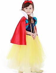 Snow White Deluxe Gown Kis Christmas Costume