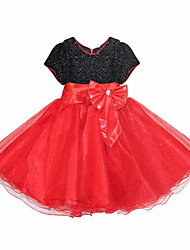 Girls Beautiful Joining Together Princess Dress
