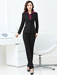 Women's Elegant Office Lady Suit(Blazer & Pants)