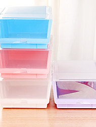 Japanese Thick Transparent Storage Shoe Box SN0065