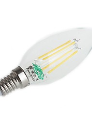4W E14 Ampoules à Filament LED C35 4 LED Dip 380 lm Blanc Chaud Blanc Froid Décorative AC 100-240 V